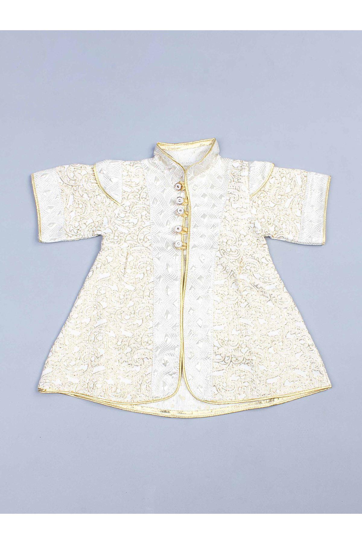 Sarı 5 li Erkek Bebek Şehzade Takım