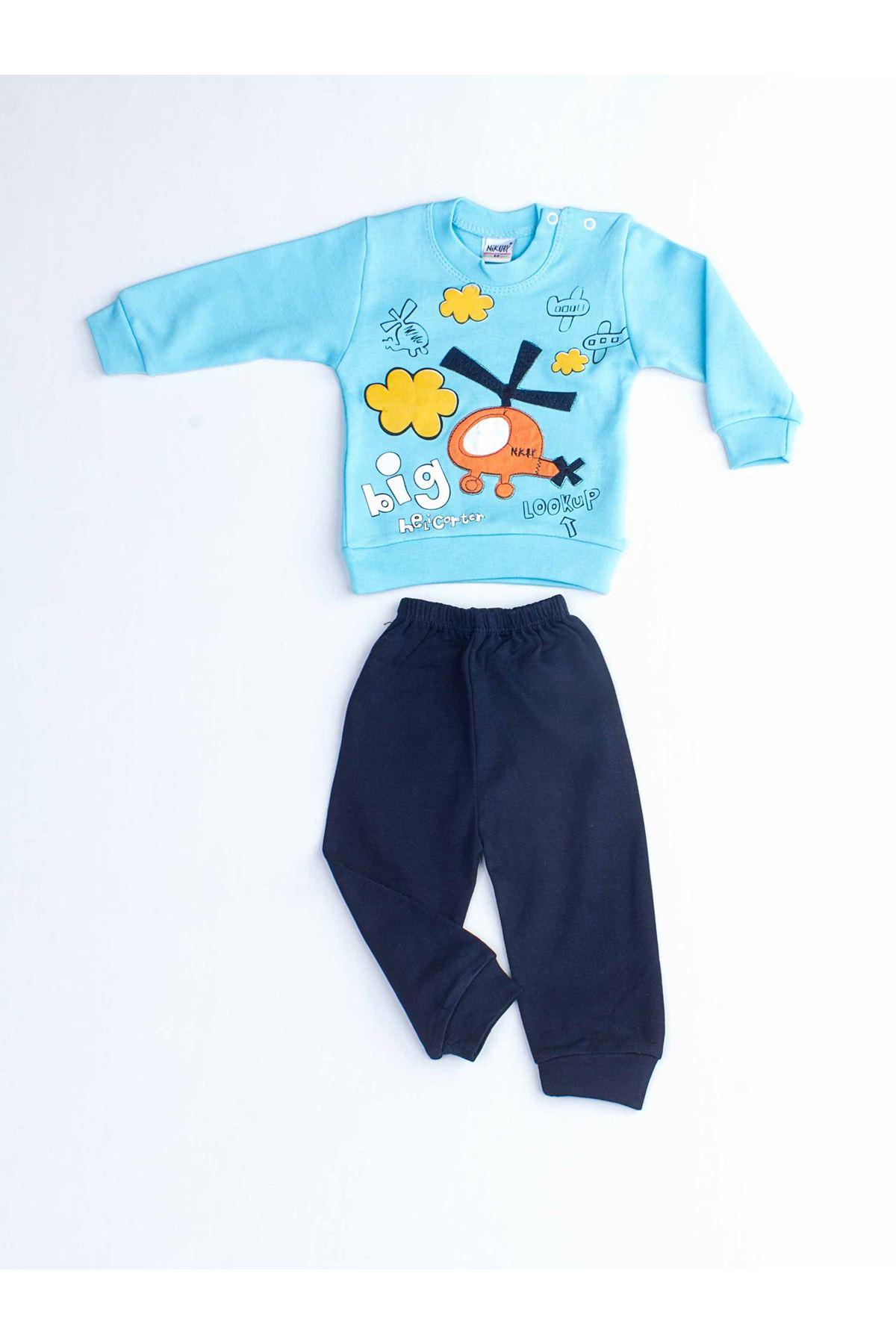 Blue Baby Boy 2 Piece Suit