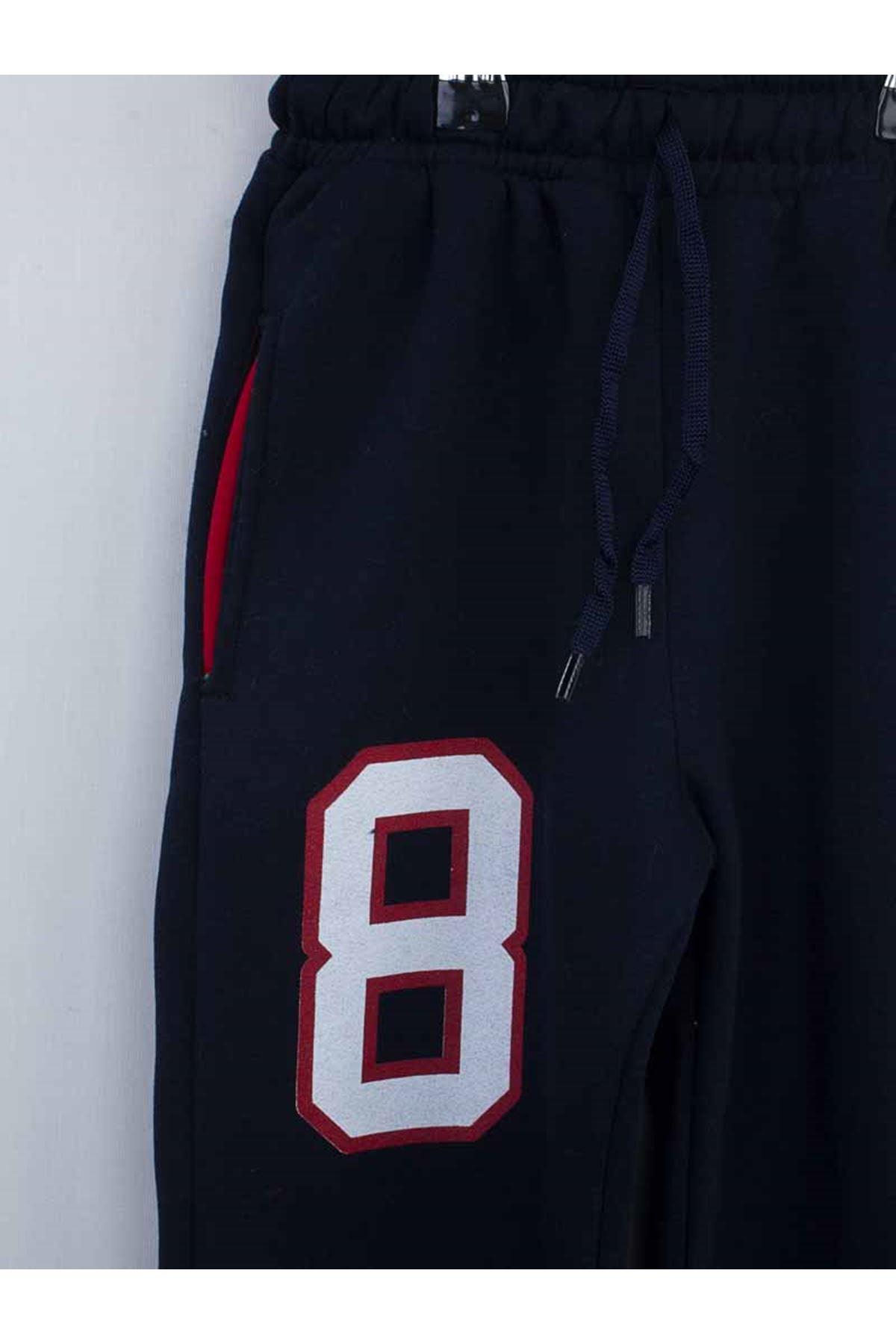 Red Burgundy boys tracksuit set bottom sweatpants sweat top 2 piece cotton seasonal suits models