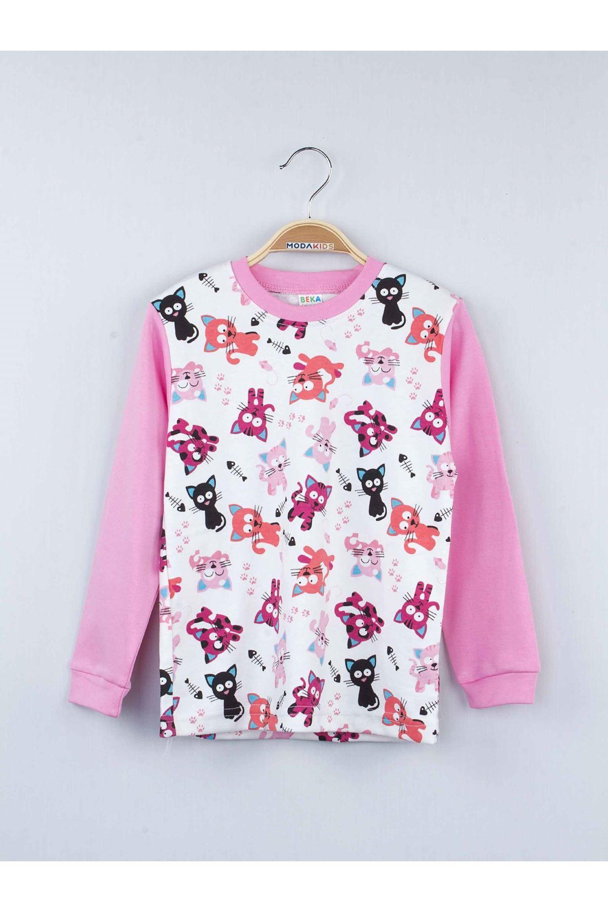 Pink Female Child Sleepwear Set