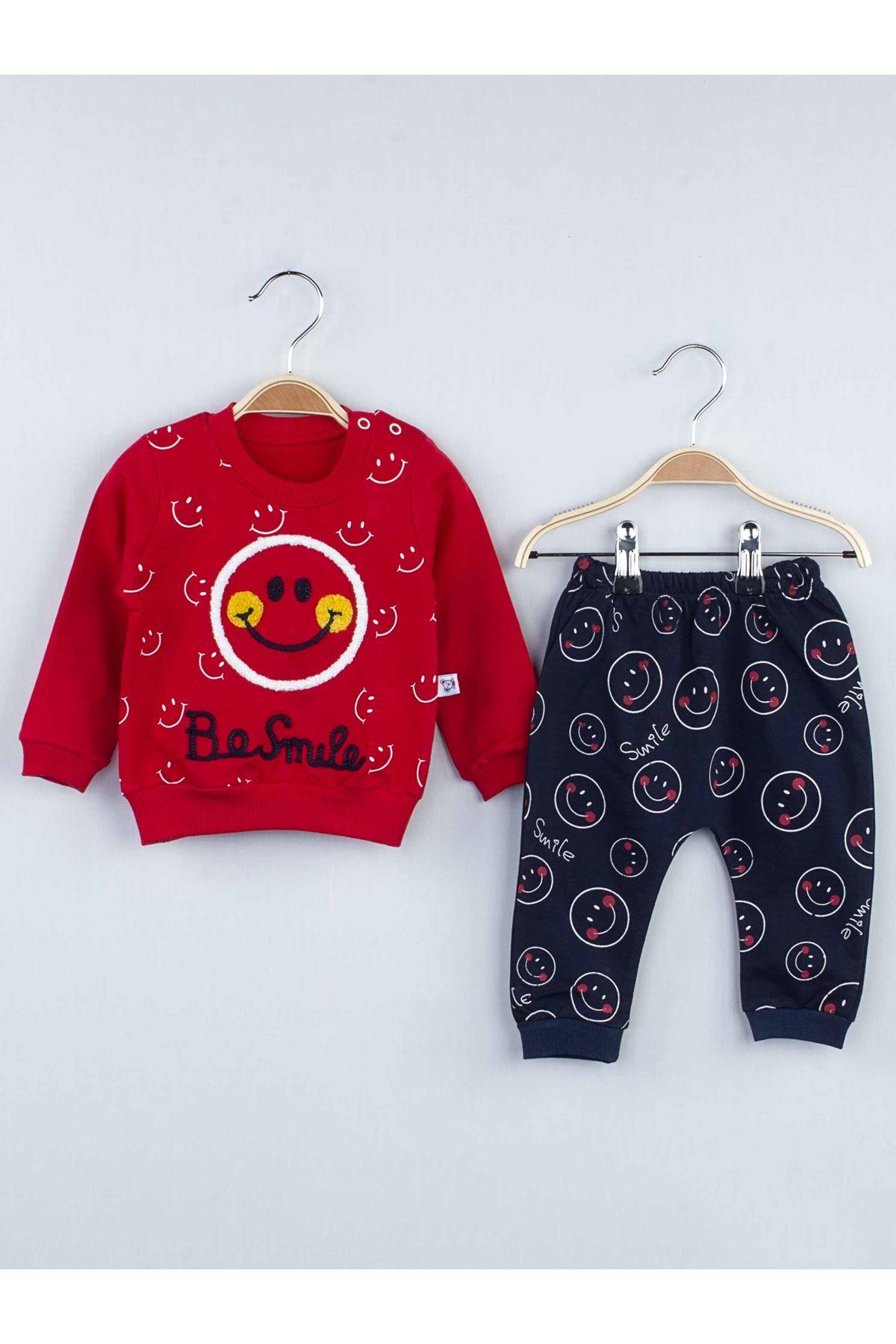 Red Seasonal Male Baby 2 li Suit