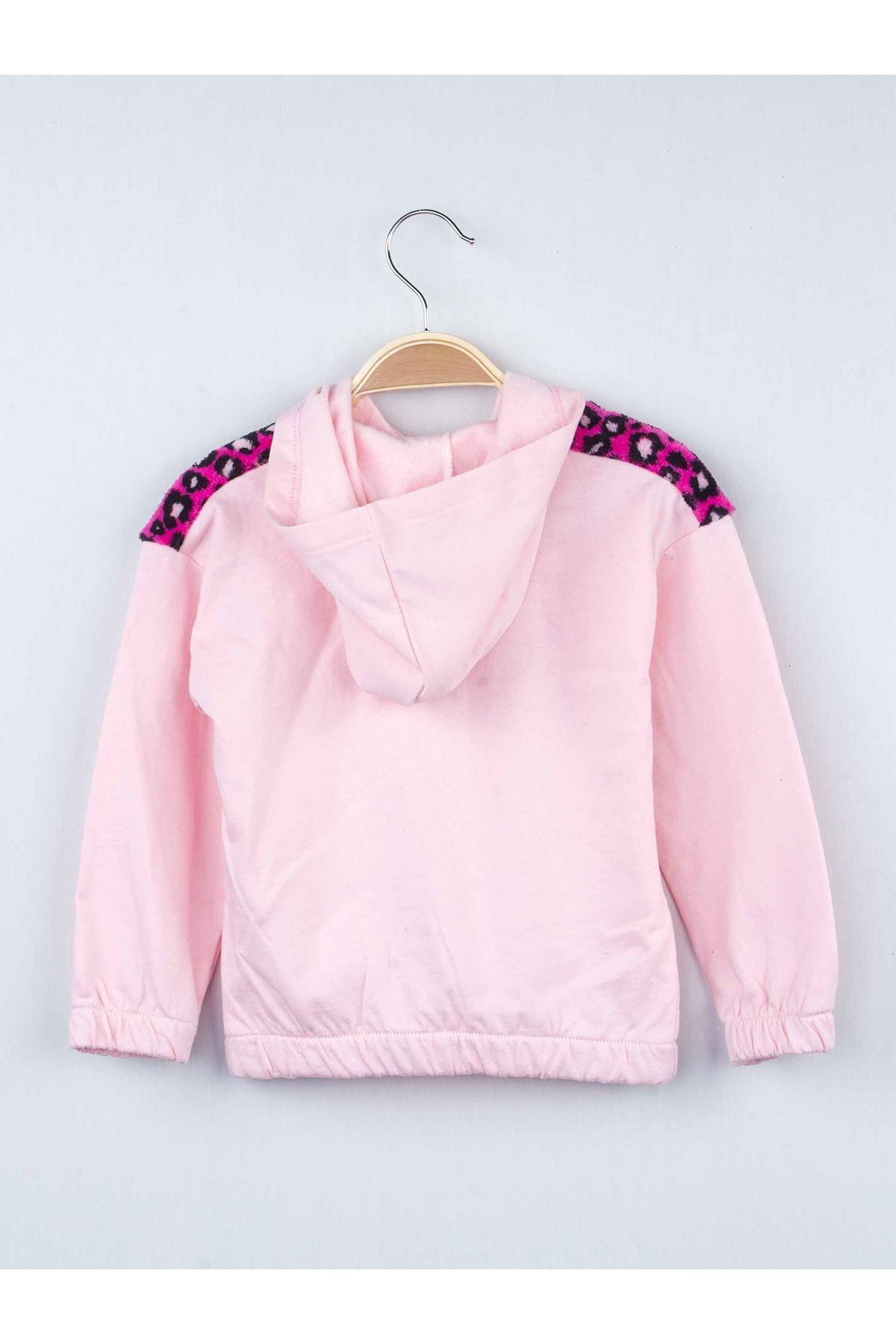 Pink Seasonal Hooded Girl's 2-Piece Set