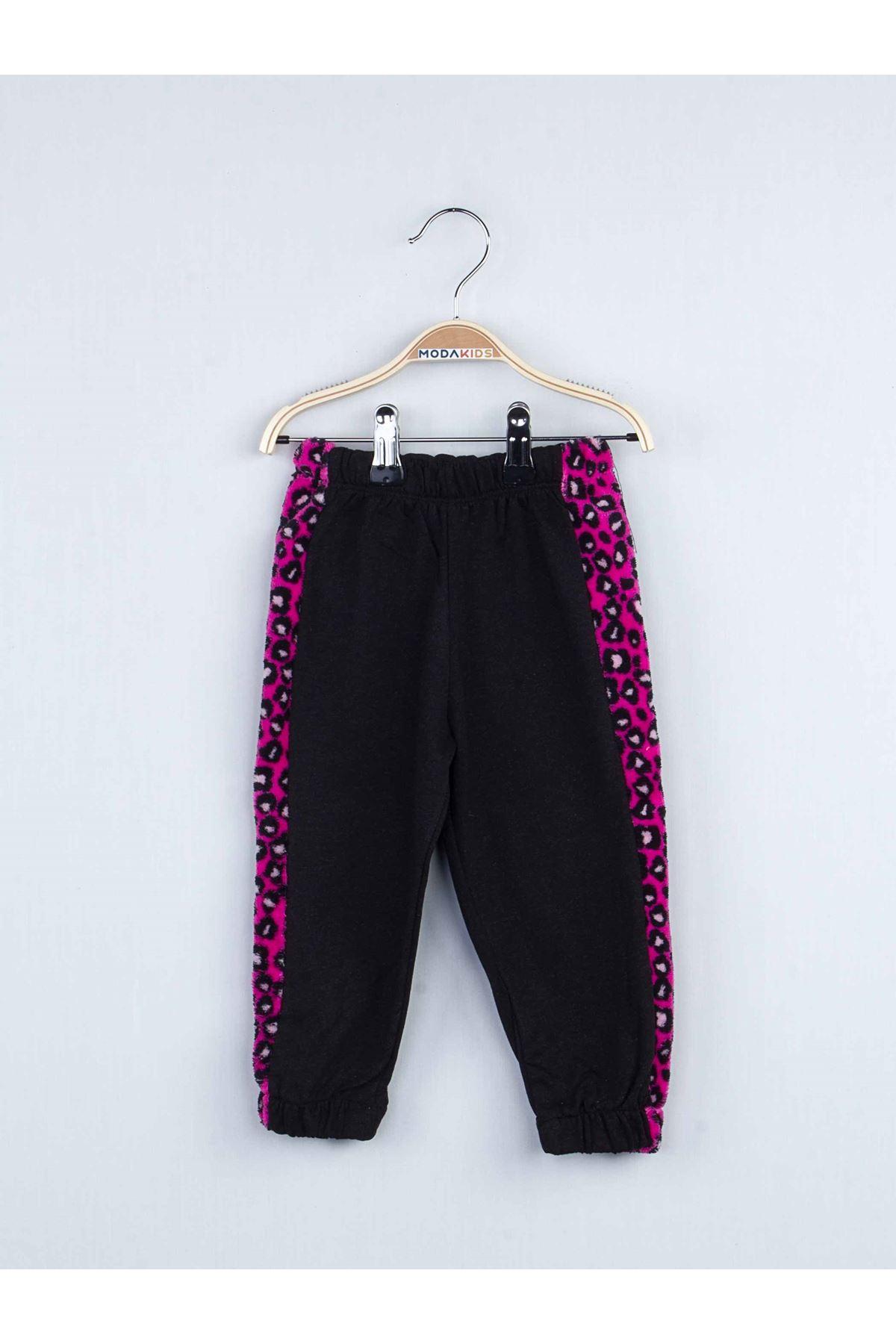 Black Boys Girls Track suit Set Bottom Pajamas Top Pajamas Kids Daily Wear Homewear Cotton Comfortable Children Pajamas Sets