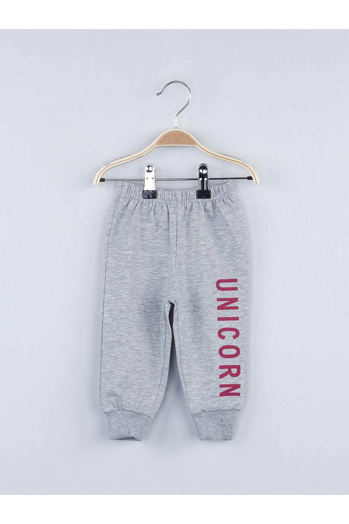 Burgundy gray baby girl 2 piece bottom Andean ball tracksuit set cotton daily use comfortable style babies models