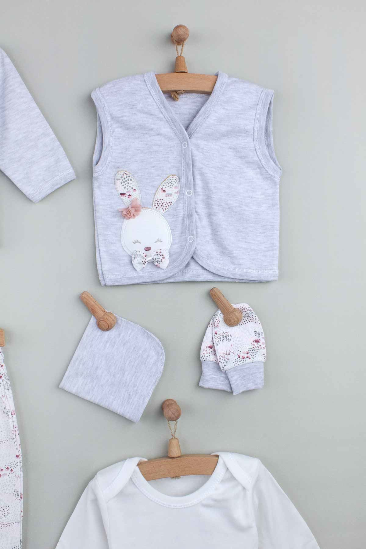 Gray baby girl newborn hospital outlet 10 piece set cute warm seasonal suit style models all babies need