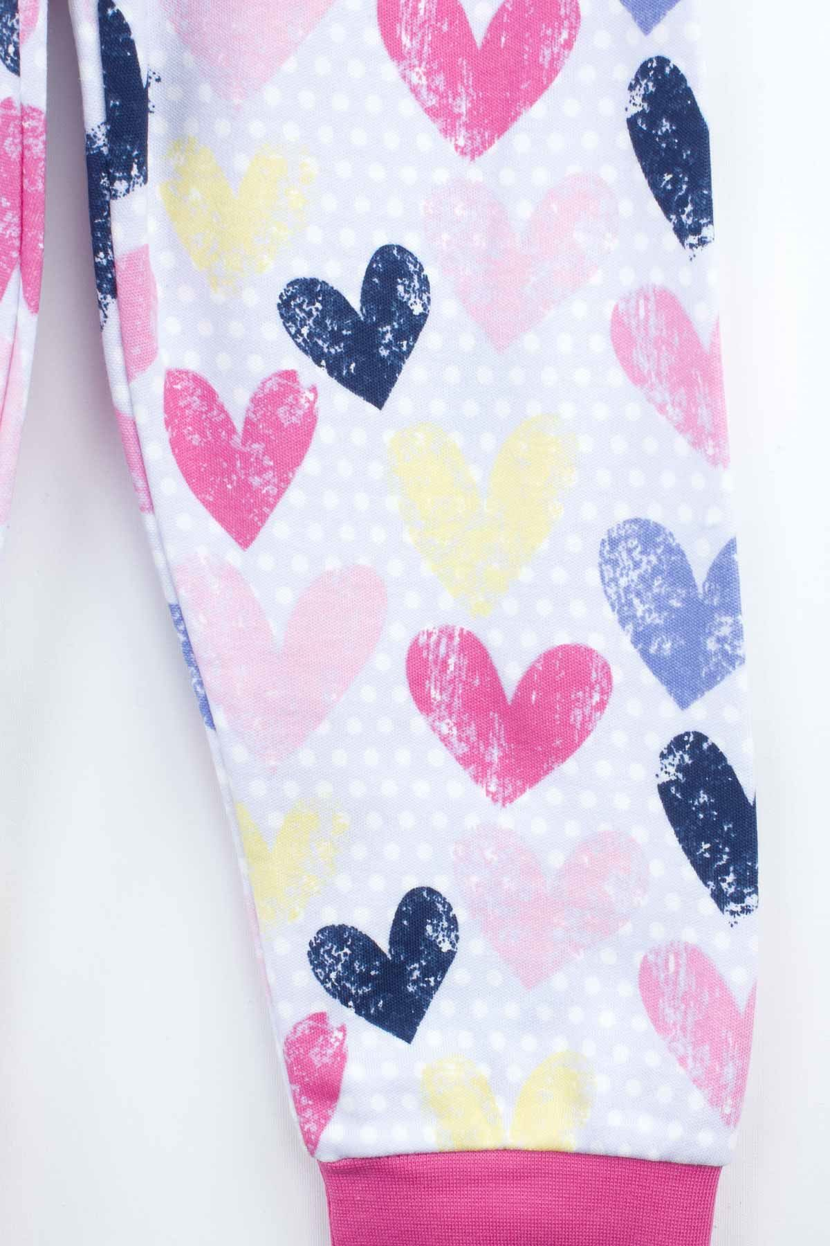 Fuchsia Girls Pajamas Set Bottom Pajamas Top Pajamas Kids Daily Wear Homewear Cotton Comfortable Children Pajamas Sets Model