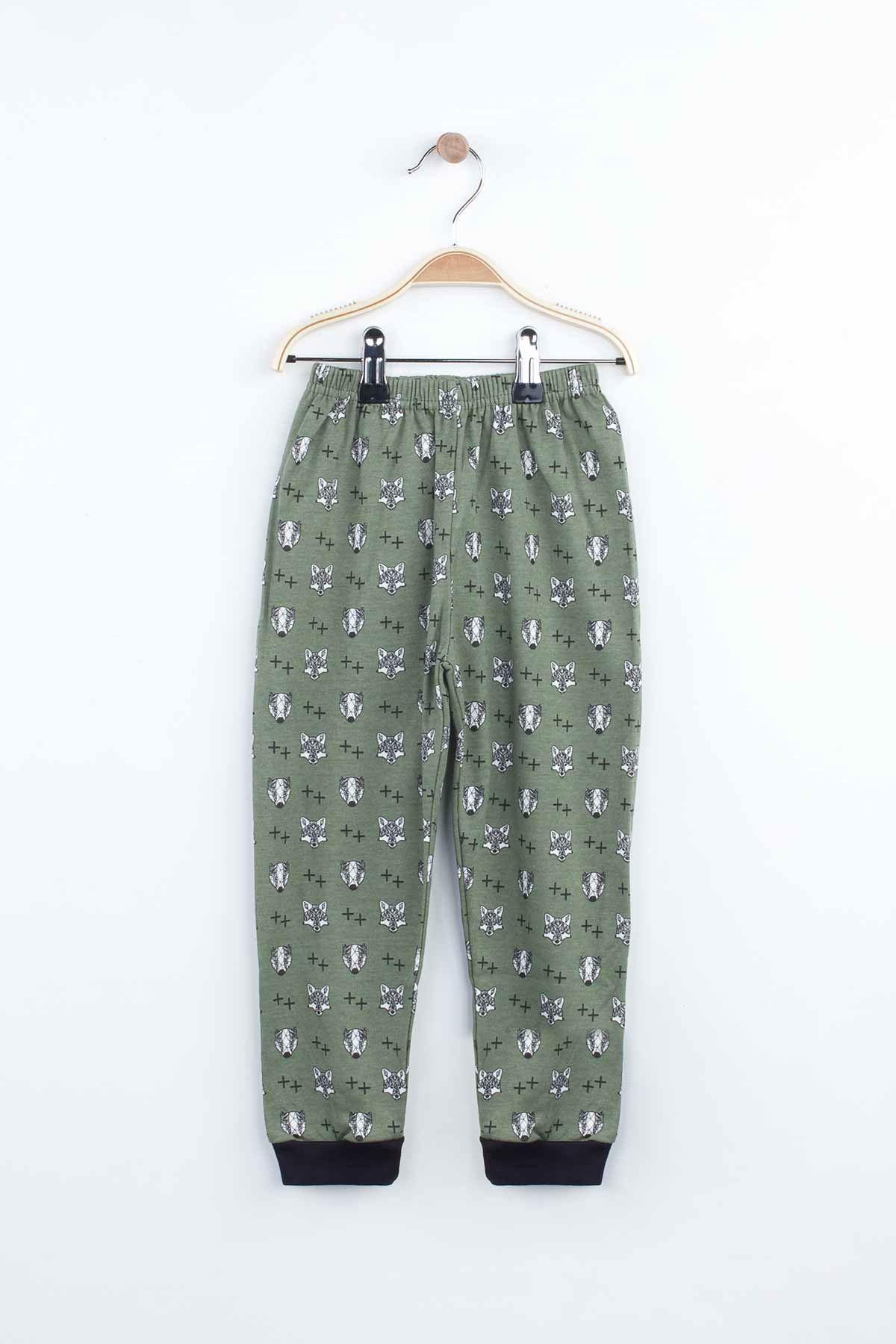 Smoked Boys Girls Pajamas Set Bottom Pajamas Top Pajamas Kids Daily Wear Homewear Cotton Comfortable Children Pajamas Sets