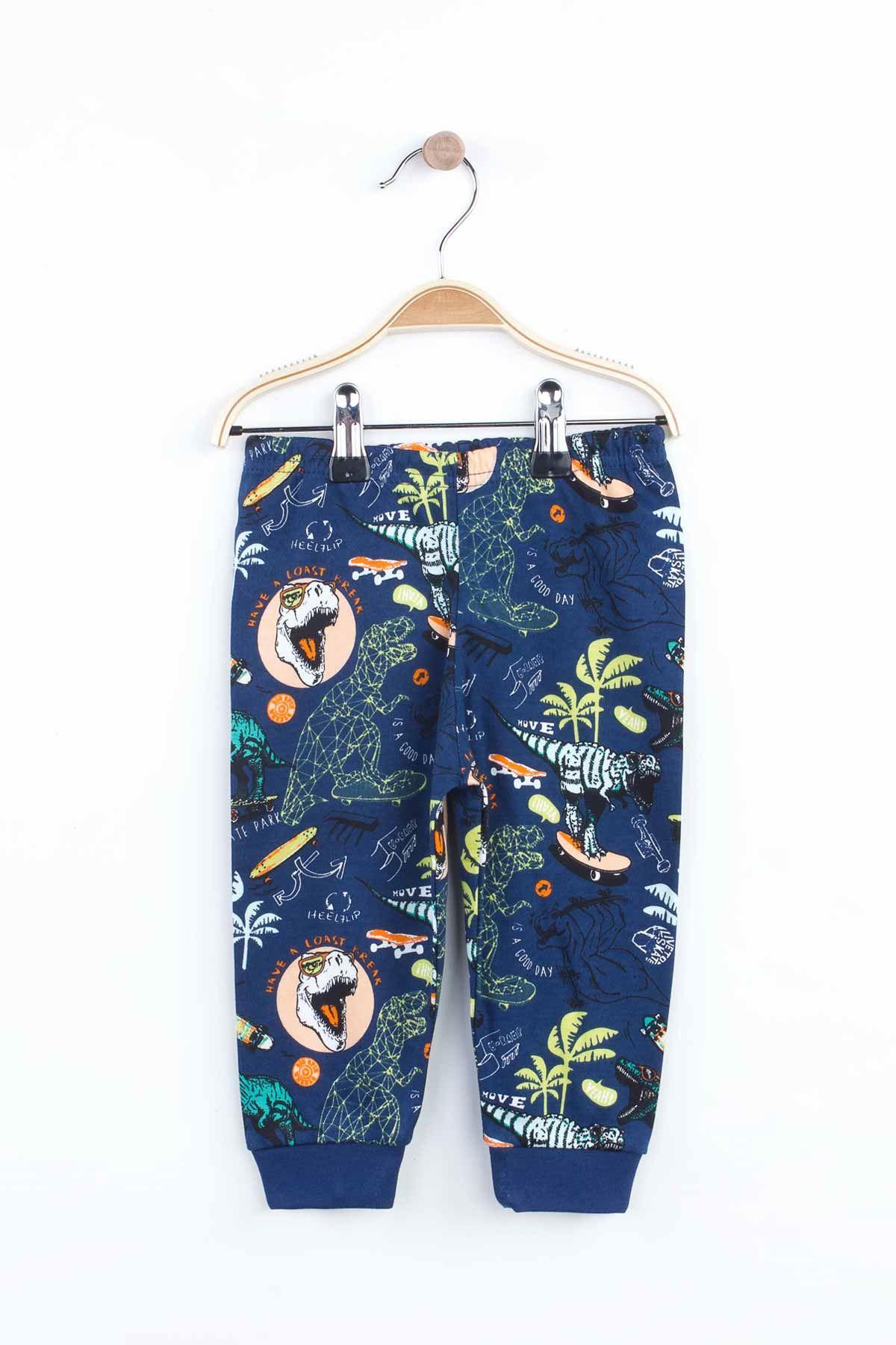 Indigo Boys Girls Pajamas Set Bottom Pajamas Top Pajamas Kids Daily Wear Homewear Cotton Comfortable Children Pajamas Sets