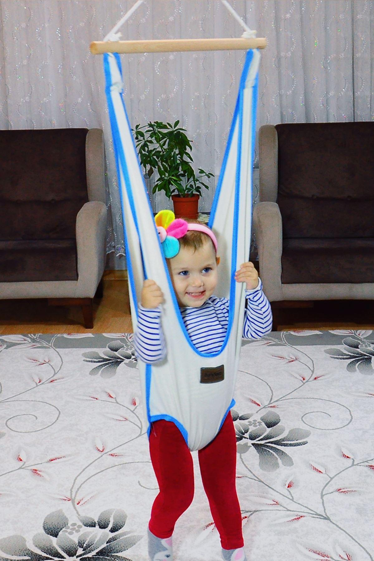 Bundera Luna Mavi Bebek Hoppala Zıpzıp Yürüteç