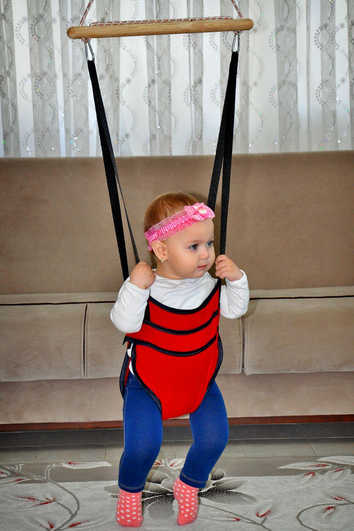 Bundera Bella Red Baby Whoops Hoppy Walker