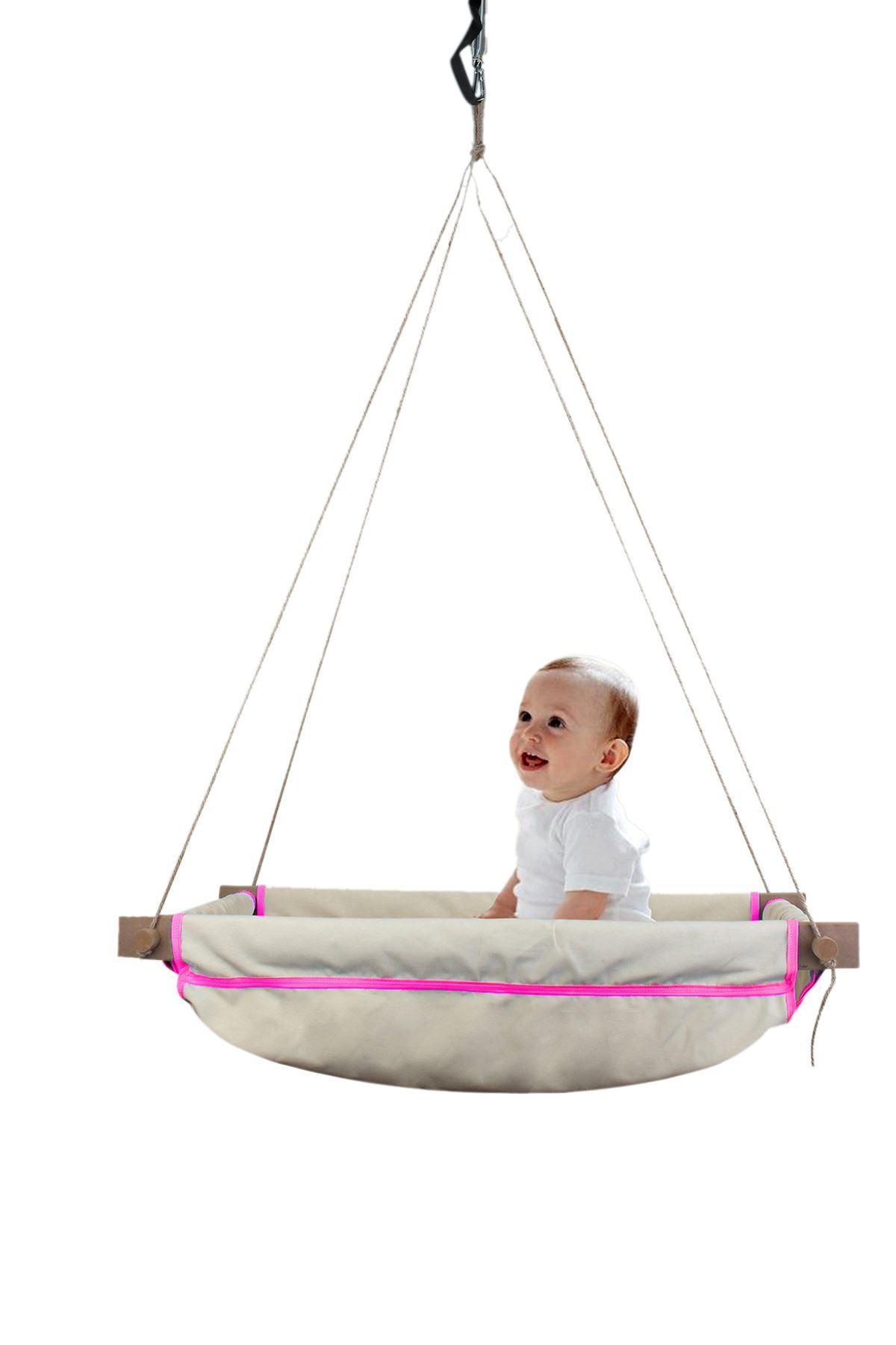 Girl Boy Child Teenager Wooden Baby Sleeping Crib Hammock Babies Toy Garden Camping Rope Swing Chair Fashion Home Fun Activity