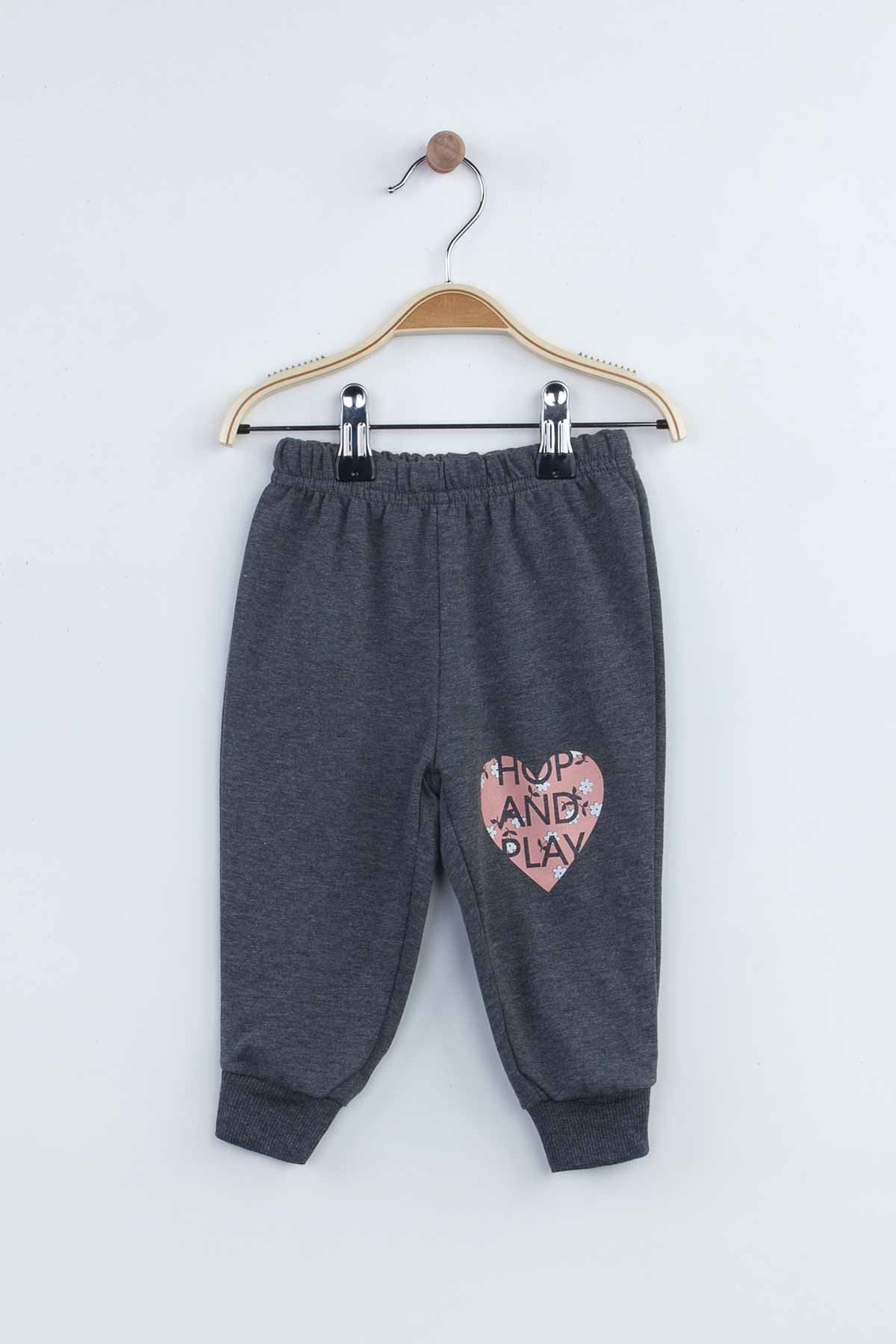 Powder Pink Baby Girl Children 2 Piece Bottom, top Suit Set Seasonal Cotton Comfortable Kids Babies Sweat-Proof High Quality