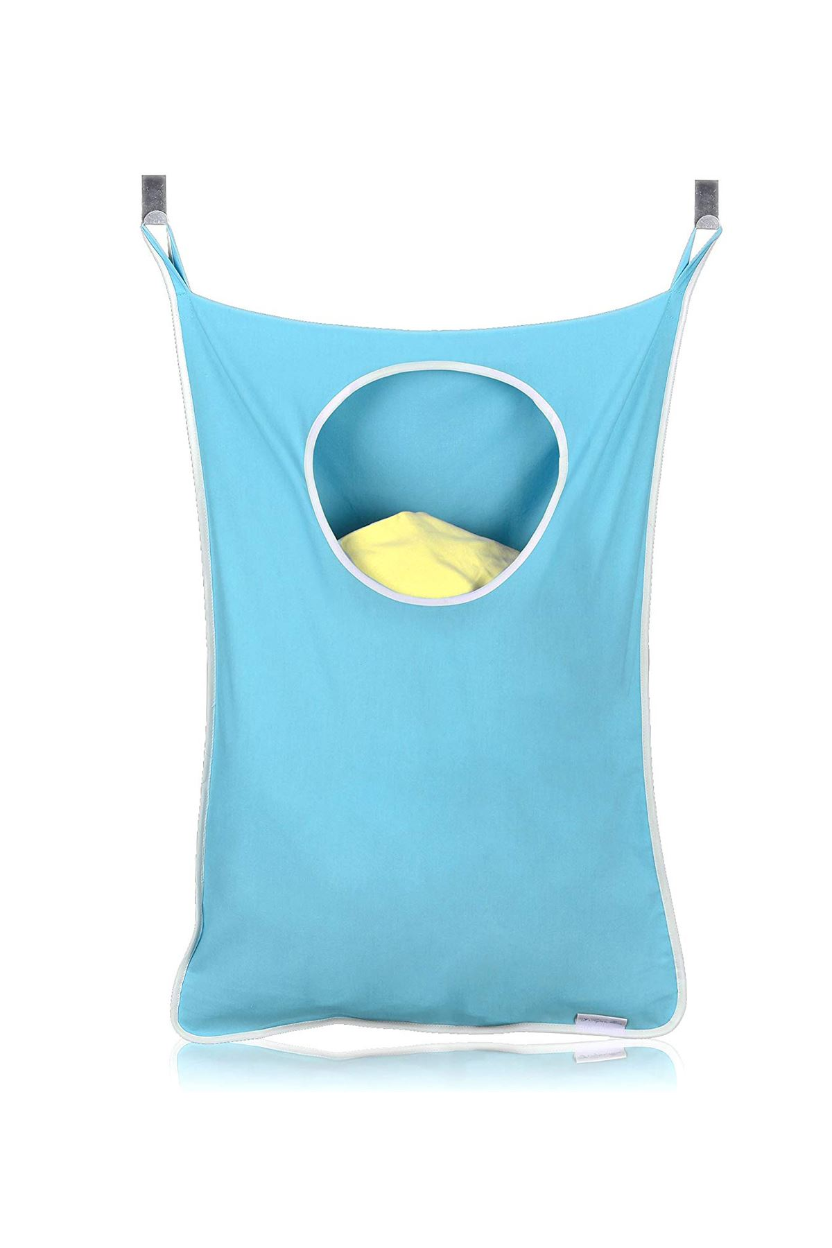Blue Laundry Toy Hanger Kids Room Bathroom Dirty Clothes Hooked Behind Door Wall Model Practical Household Items Storage Models