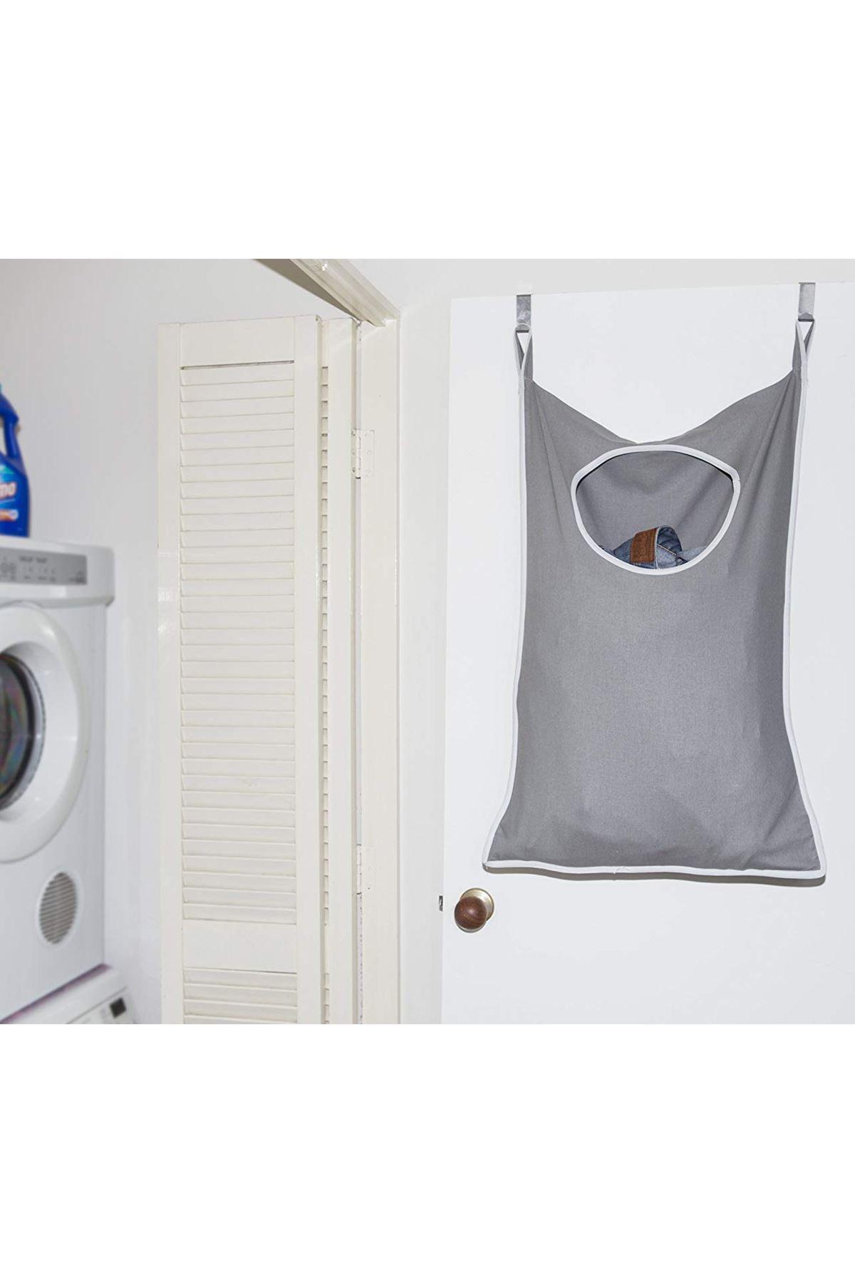 Gri Bundera Waschen Koffer Kirli Çamaşır Filesi Oyuncak Sepeti