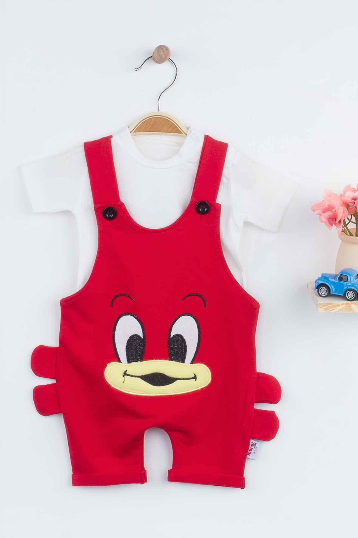 Red Baby Boy Rompers Summer Fashion 2021 New Season Style Babies Clothes Outfit Cotton Comfortable Underwear for Boys Baby Models
