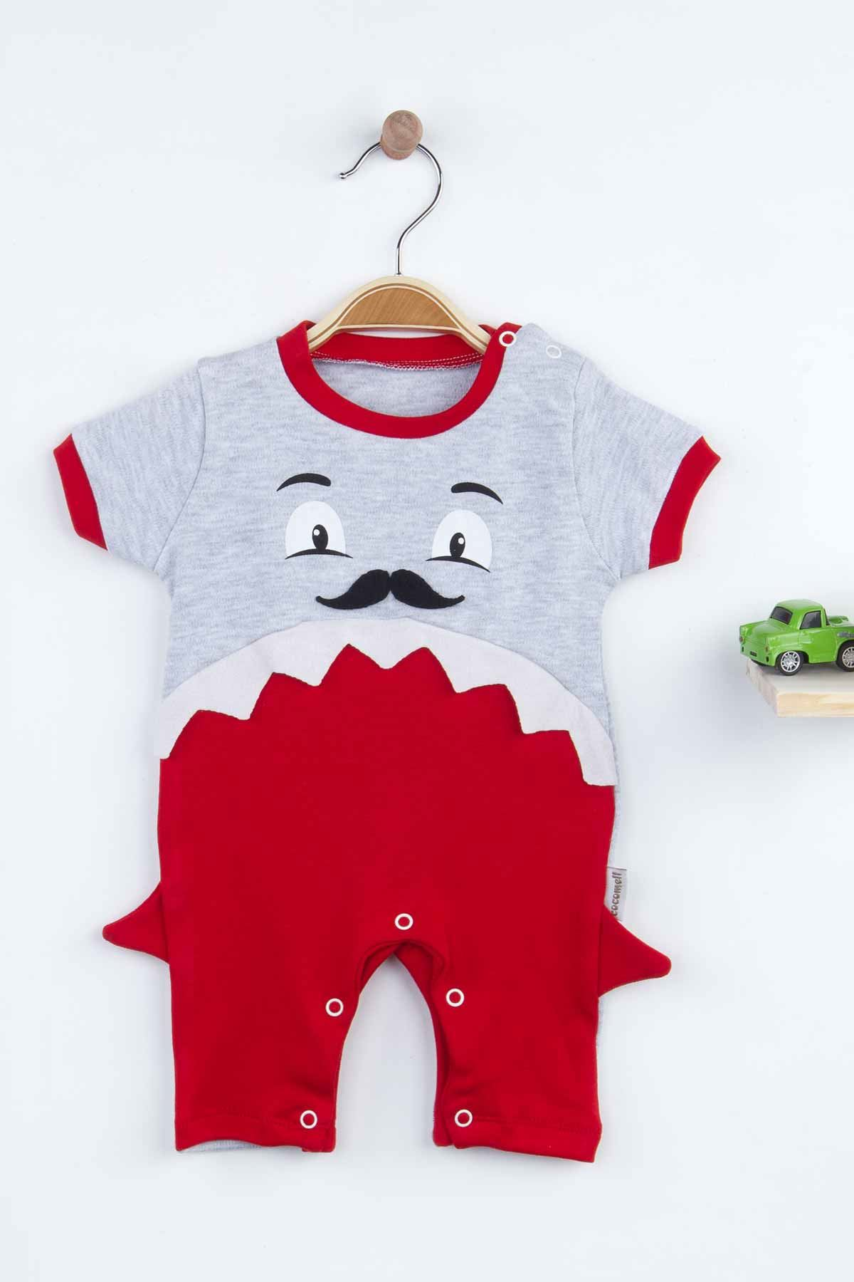 Red Summer Baby Boy Rompers Fashion 2021 New Season Style Babies Clothes Outfit Cotton Comfortable Underwear for Boys Baby Models