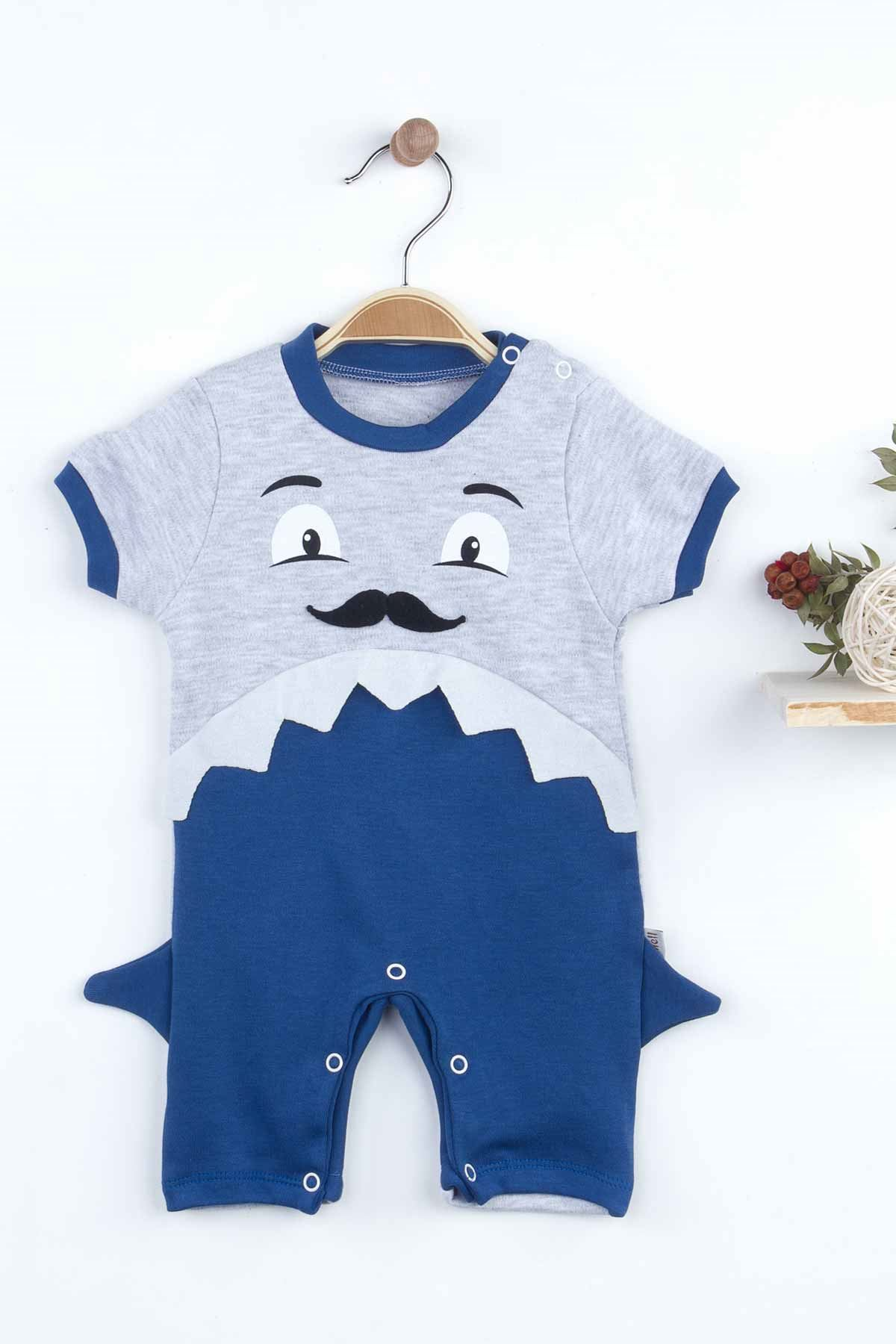 Navy Blue Baby Boy Rompers Sea Summer Fashion 2021 New Season Style Babies Clothes Outfit Cotton Comfortable Underwear for Boys Baby