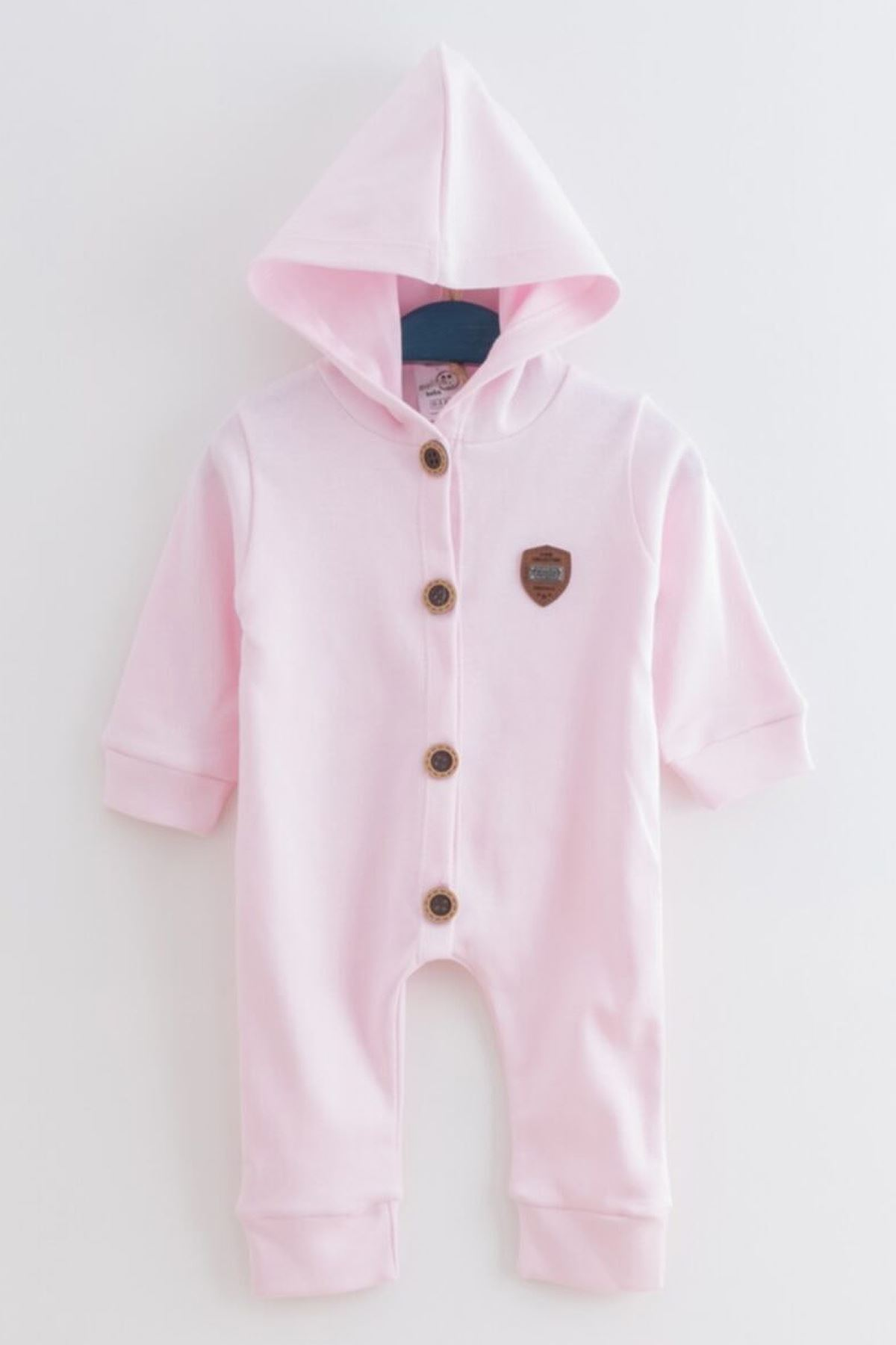 Pink Cute Baby Girls Rompers Hooded Girls Babies Clothes Outfit Models Kids Cotton Comfortable 2021 Fashion Style Model