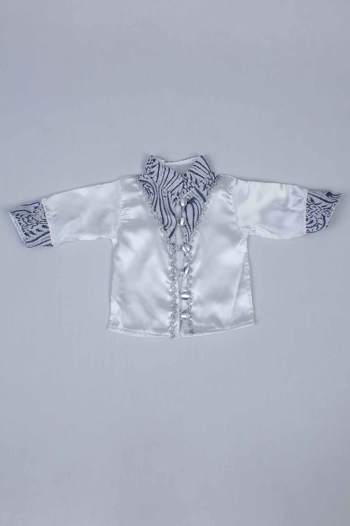 Navy blue Male Baby 6  Prince Suit