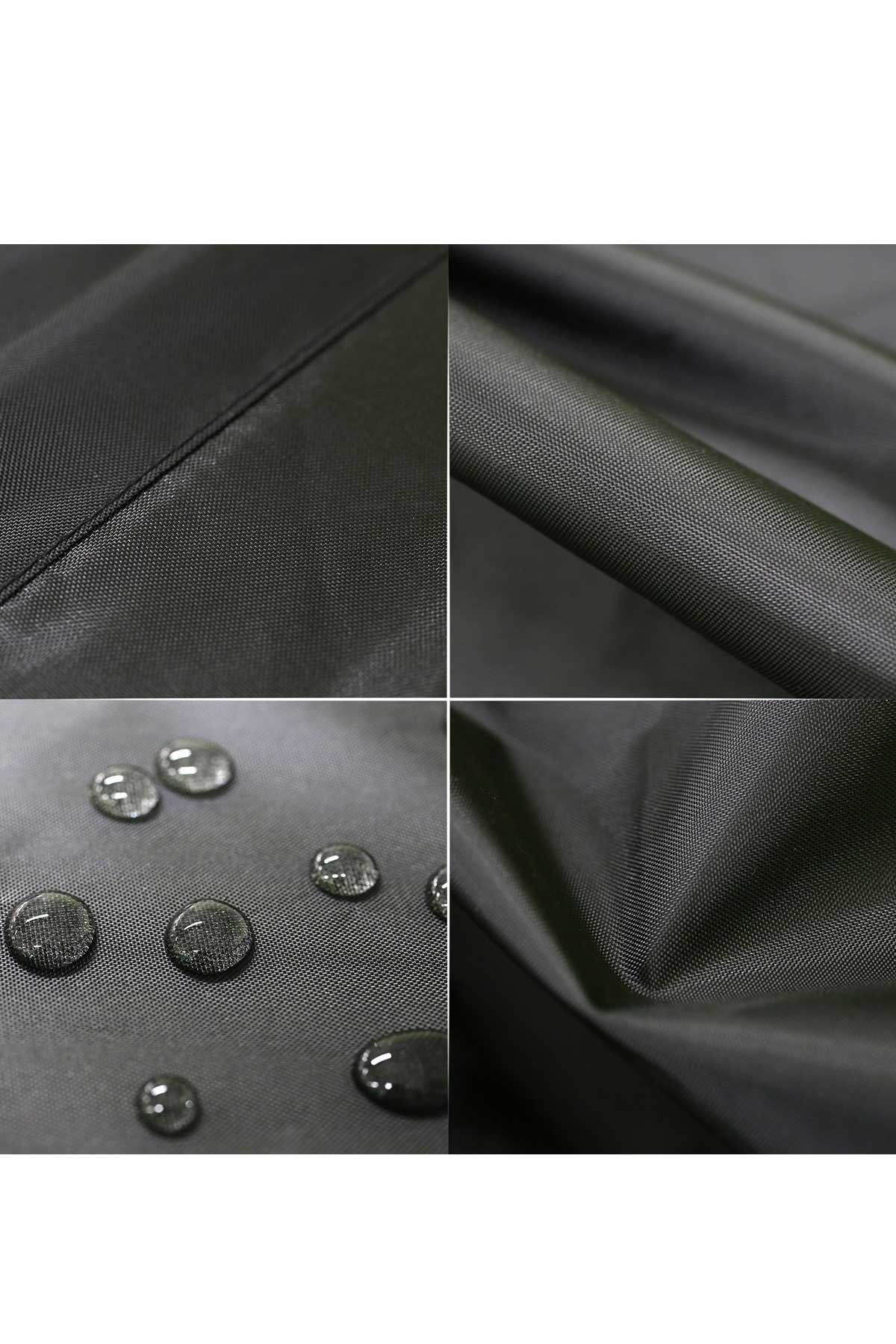 Siyah Bundera Cover Bahçe Mobilya Örtüsü