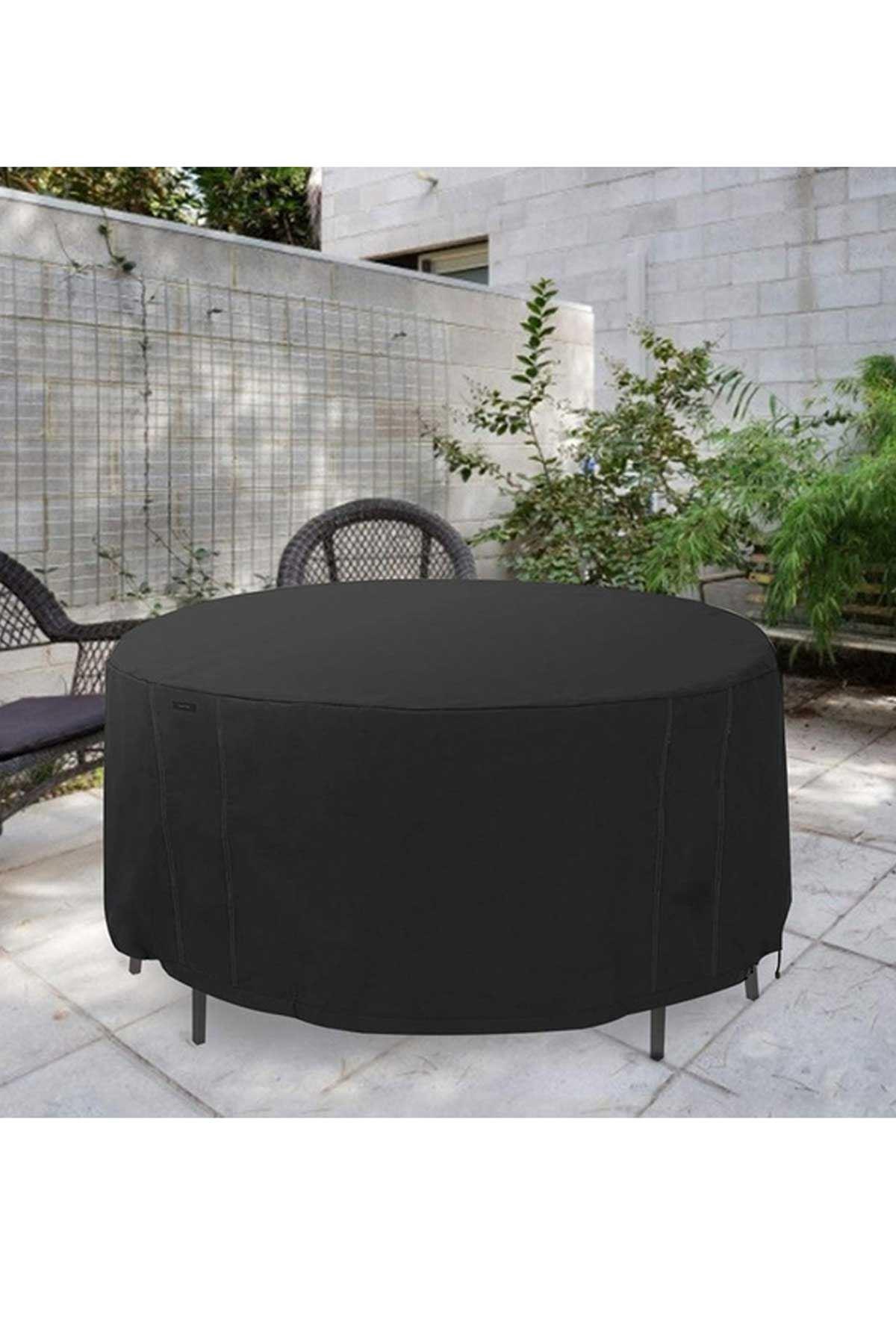 Siyah Bundera Guise Bahçe Mobilye Örtüsü