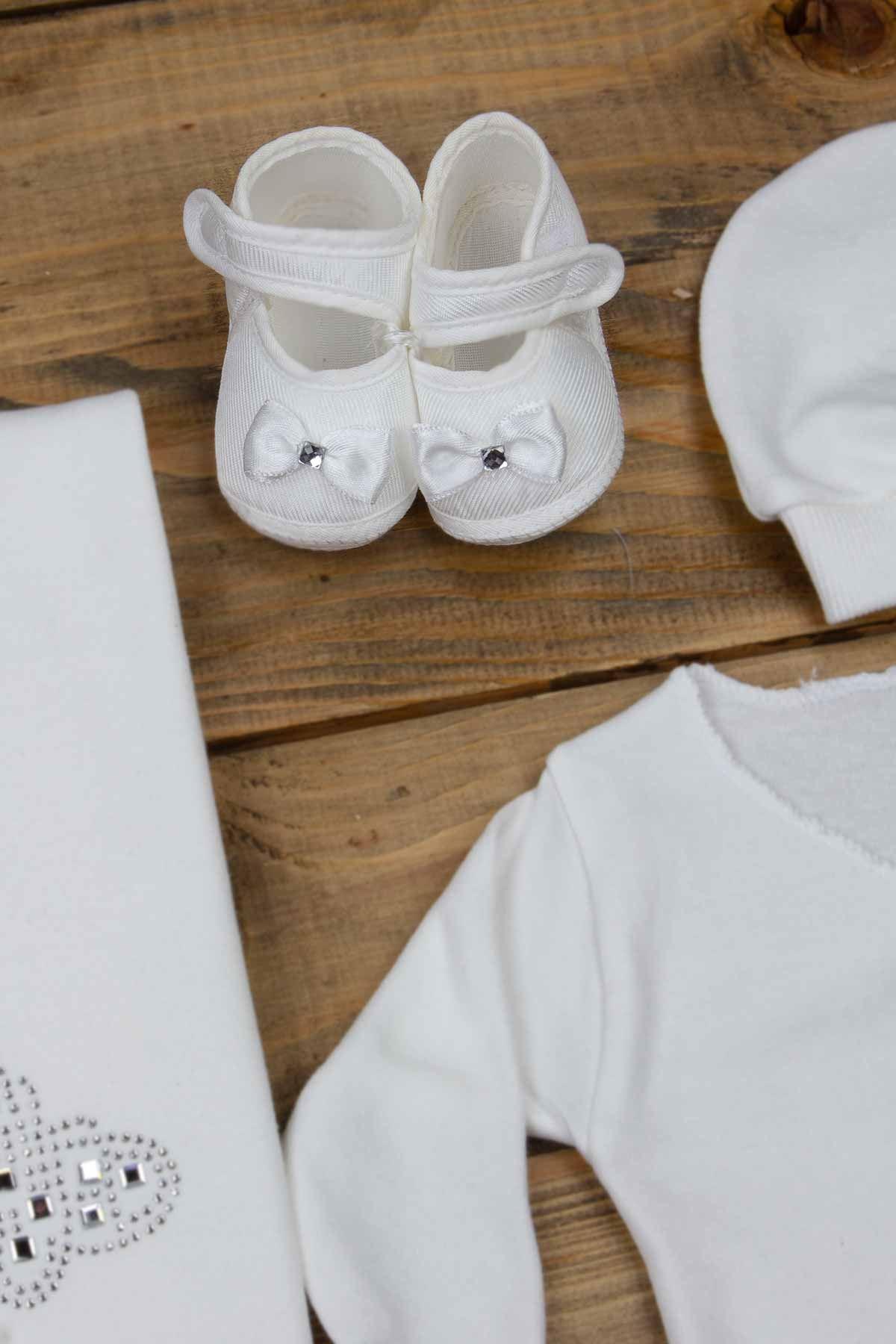 Beyaz Yenidoğan 10 lu  Kız Bebek Hastane Çıkışı