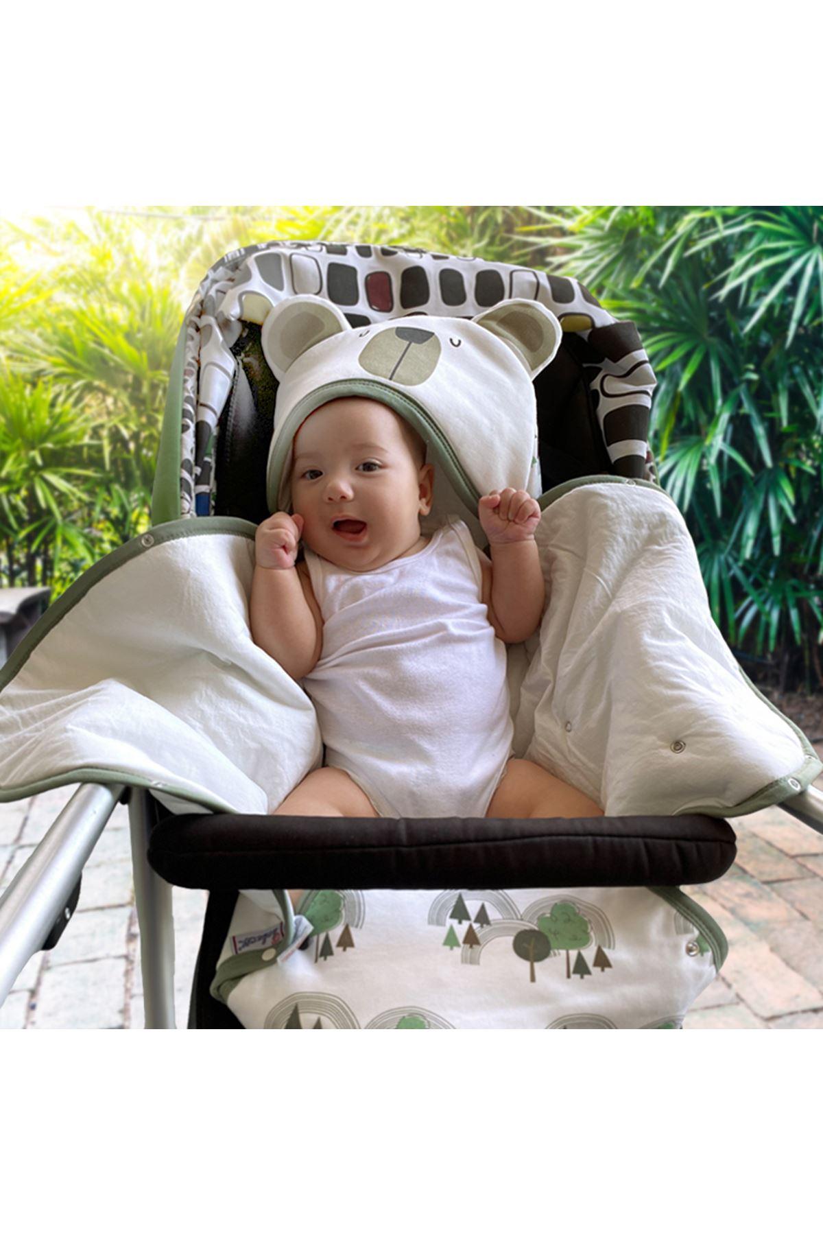 Beyaz Daddy Loves Me Bebek Kundak Alt Açma