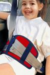 Kırmızı Bundera Soft Çocuk Emniyet Kemeri Düzenleyici Oto Emniyet Kemeri Tutucu
